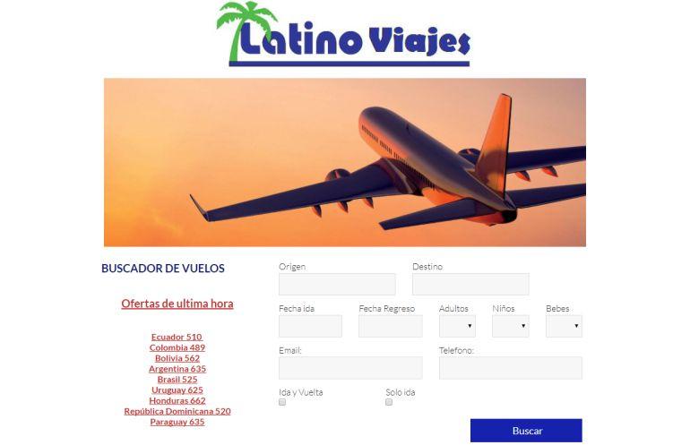 Web Latino Viajes