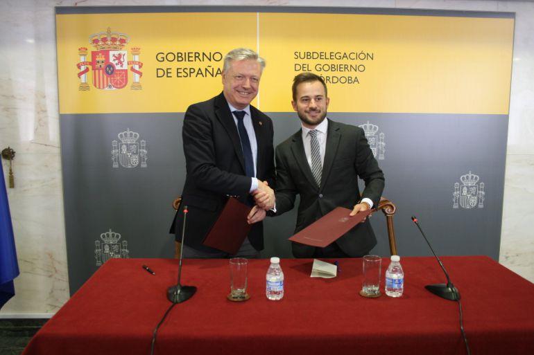 La Subdelegación del Gobierno y el Córdoba CF renuevan su colaboración