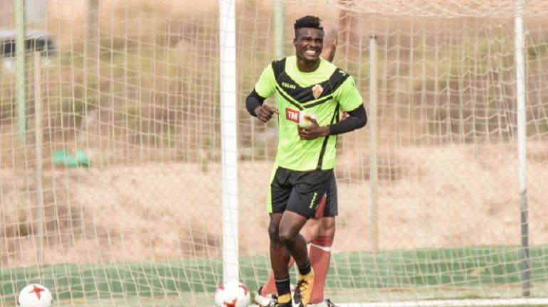 Sory Kaba ha vuelto a Elche feliz tras su debut con Guinea