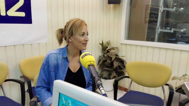 "Alicia González, de ""5 senses"", en Radio Jerez"