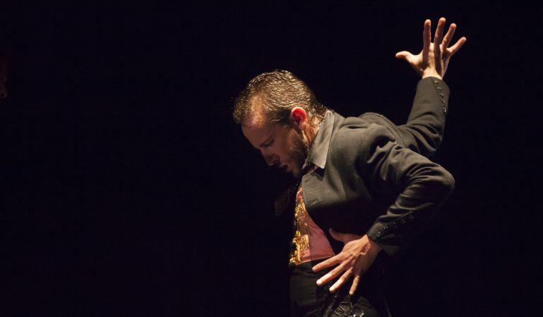 El bailaor granadino Manuel Liñán durante una de sus actuaciones