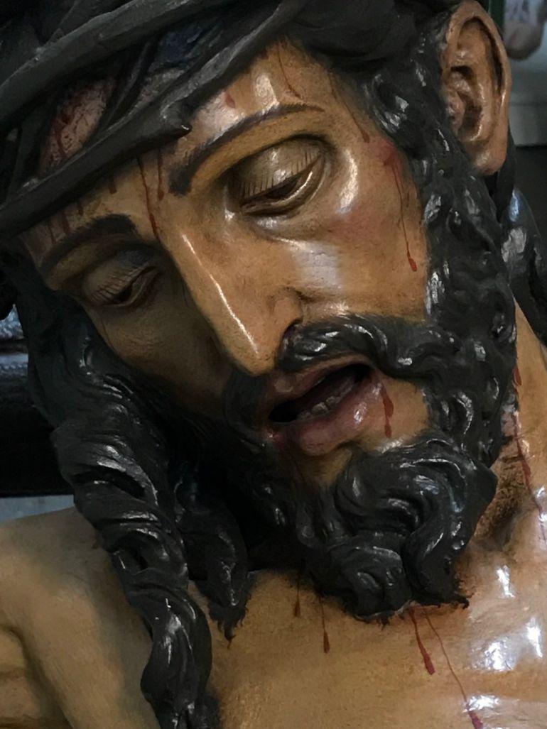 El Cristo de la Sagrada Lanzada se repuso al culto