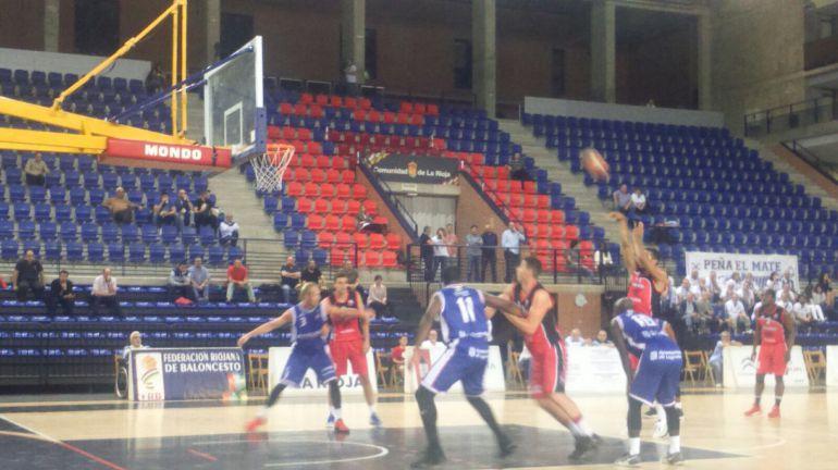 Mal partido y derrota clara en Logroño