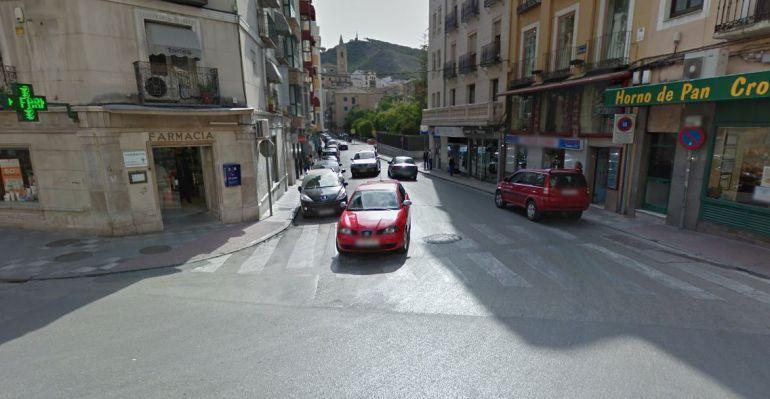 El asalto se produjo en la calle Fray Luis de León
