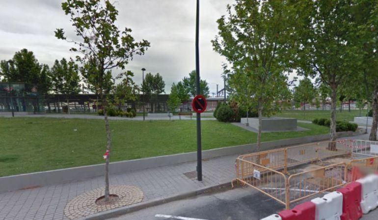 Árboles en la zona de la estación de El Casar