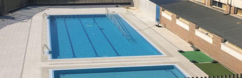 Nueva piscina adaptada para la fundaci n madre de la for Piscinas talavera