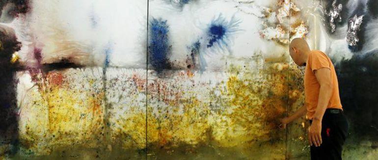 El artista contemporáneo chino, Cai Guo-Quiang, ha retratado a Toledo utilizando pólvora