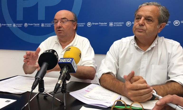 Luis Martín y Salvador Fuentes