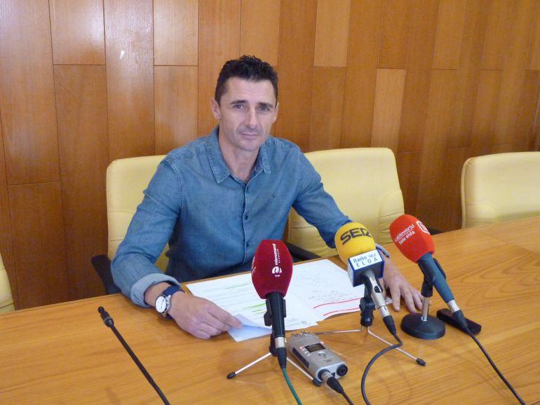 Alberto García, edil del PP en Elda