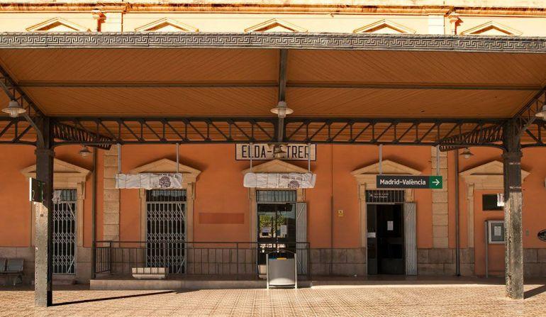 Estación de tren Elda-Petrer
