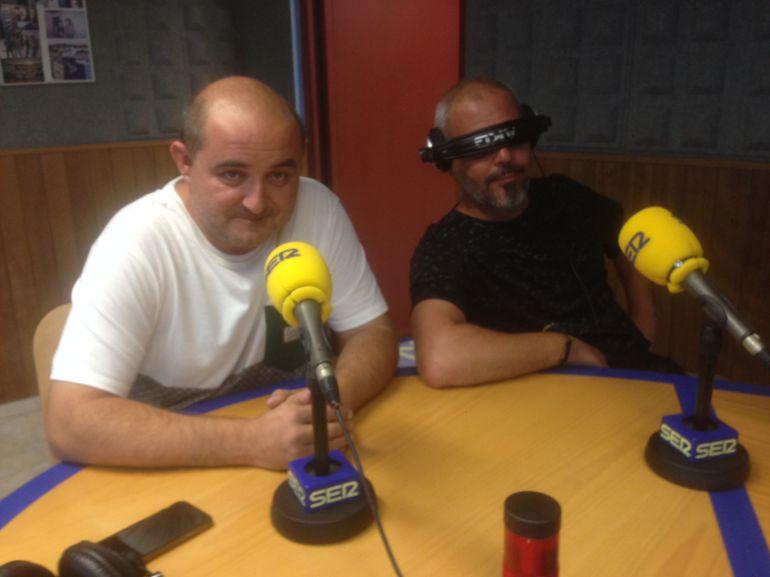 David Serra e Iván Domenech