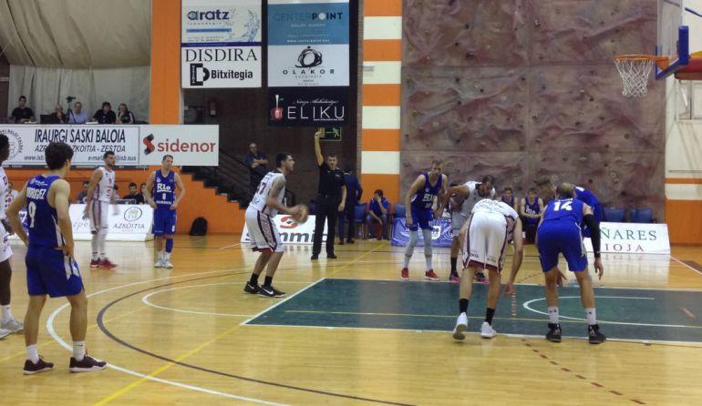 Terecera derrota consecutiva del Club Ourense Baloncesto, esta vez en la cancha del Sammic Hostelería por 89 a 80