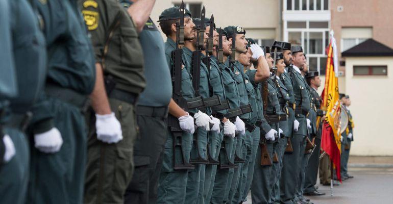 La Asociación de la Guardia Civil de Úbeda distinguida con el Tricornio de Gala 2017