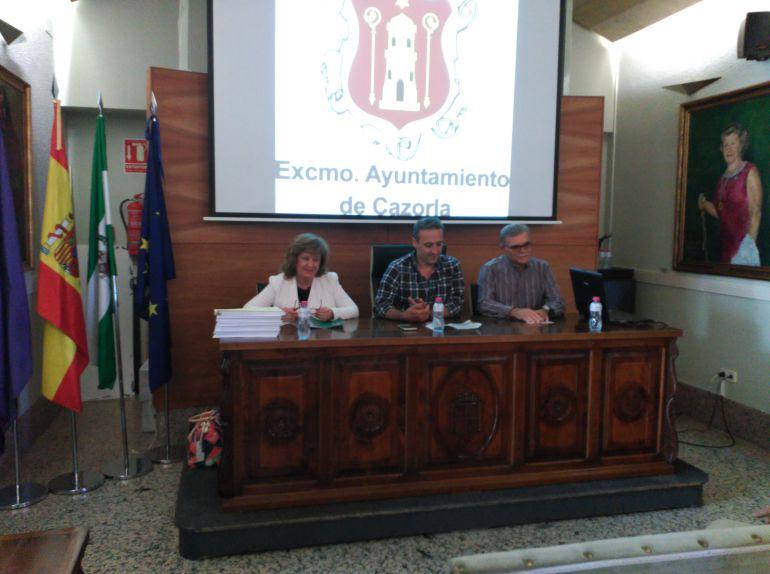 I Jornadas de salud en Cazorla donde partició la delegada de salud Teresa Vega