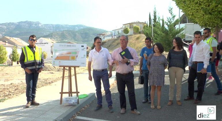 Primera piedra para la construccion de un gran parque de ocio y tiempo libre en Quesada