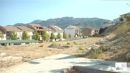 Terrenos donde ira emplazado e parque de ocio y tiempo libre en Quesada
