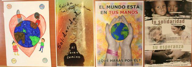 Ganadores del Concurso de Carteles Solidarios de Tres Cantos