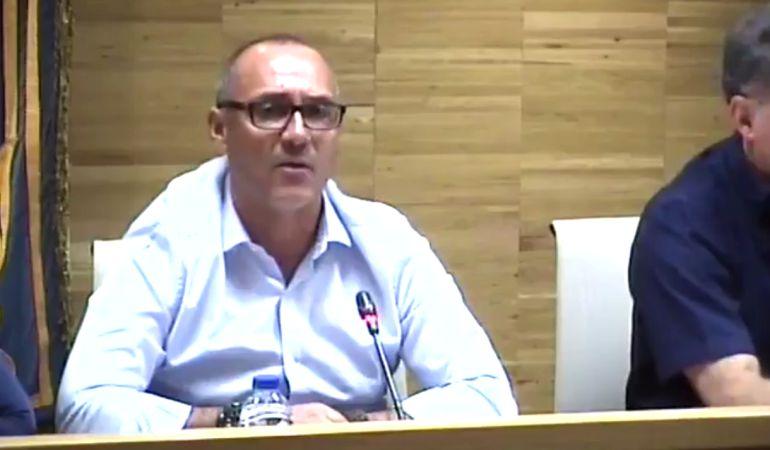 Ángel Muñoz ha comparecido en un pleno para dar explicaciones del caso
