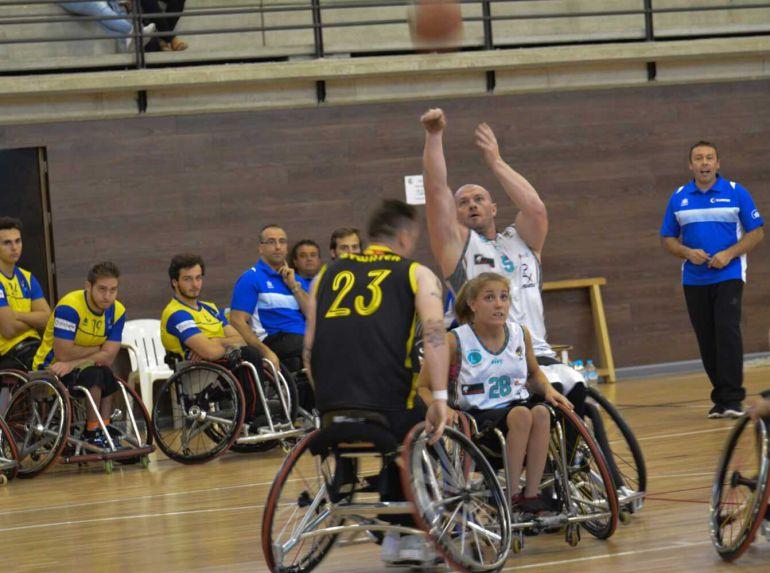 El BSR Amiab Albacete inicia la Liga Nacional de baloncesto en silla de ruedas