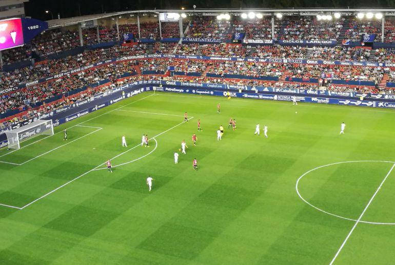 Derrota en Pamplona en un mal partido del Albacete