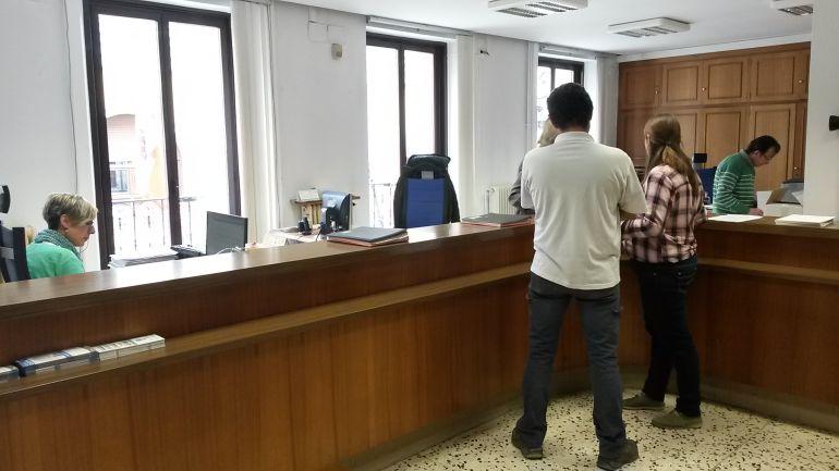 Oficinas de la Casa Consistorial arandina