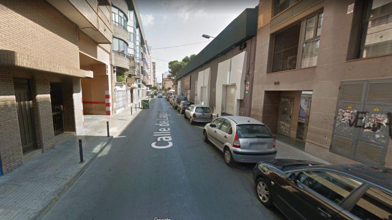 Captura fotografía Calle Lagasca. Google maps