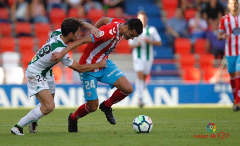 El Córdoba CF de vacío en Lugo por una pésima segunda parte