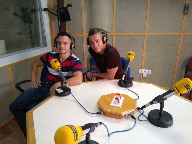 Benite Prieto (izquierda) y Carlos García