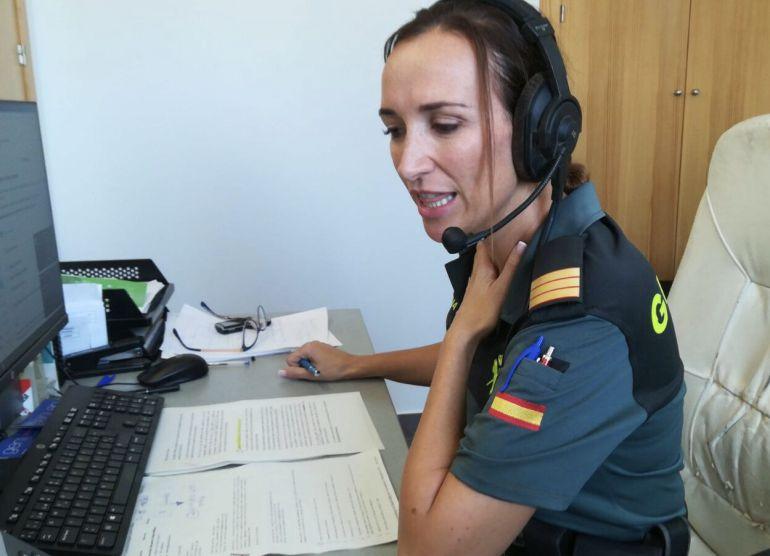 Adela Milllán, Comandante del Puesto de la Guardia Civil en Formentera