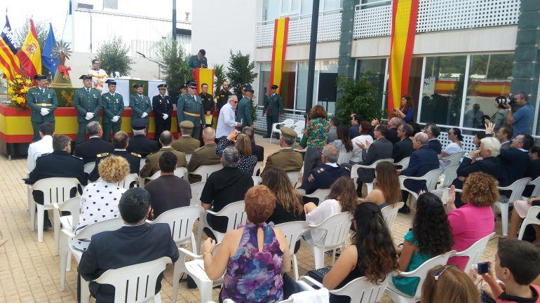 Imagen del acto en Ibiza