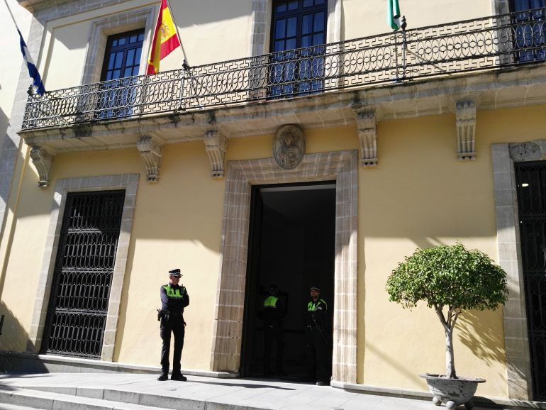 Imagen de la fachada del Ayuntamiento de Jerez