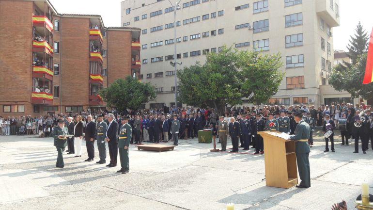 Celebración de la Festividad de la Guardia Civil en la Comandancia de Palencia