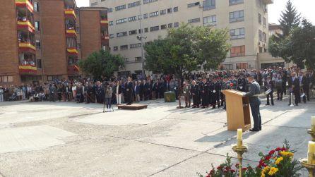 Intervención del jefe de la Comandancia de Palencia