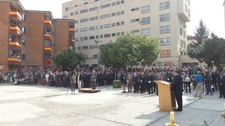 Intervención del subdelegado del Gobierno en Palencia