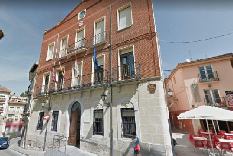 El Ayuntamiento de Peñafiel.
