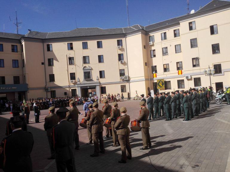Actos Guardia Civil con motivo de la festividad del Pilar.