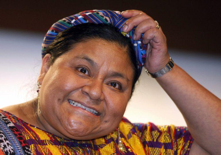 La Premio Nobel de la Paz en 1992, Rigoberta Menchú, no tendrá calle en Valladolid por opinar sobre Cataluña