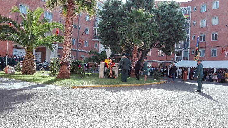 Acto del día de la patrona de la Guardia Civil en la Comandancia de Zamora