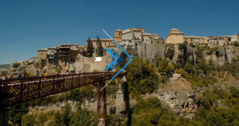 Fotograma del vídeo promocional del programa dedicado a la ciudad de Cuenca.