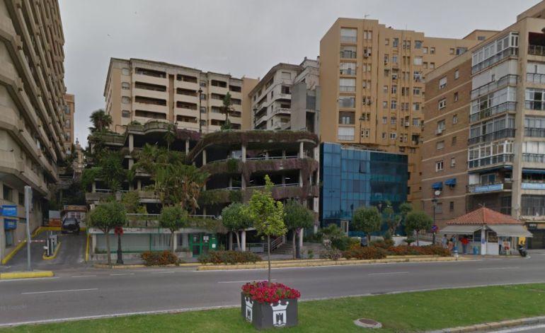 El parking de la Escalinata, ubicado en pleno corazón de Algeciras.