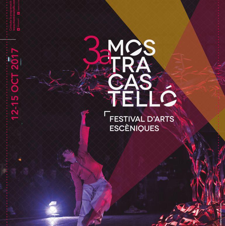 Cartel de la III Mostra d'arts escèniques de Castellón