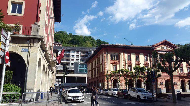 Plaza de Unzaga de Eibar
