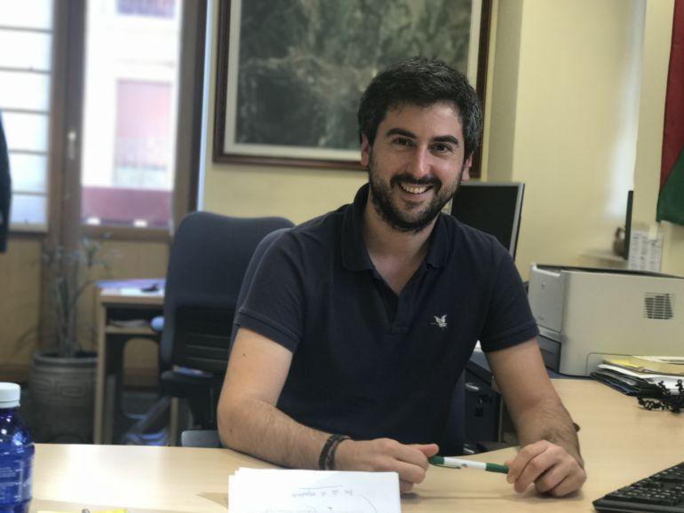 Josu Mendikute, portavoz de EAJ-PNV en el Ayuntamiento de Eibar