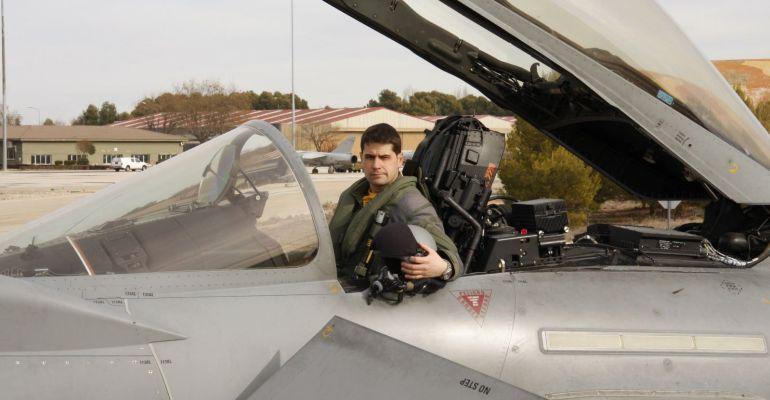 Imagen del piloto fallecido facilitada por el Ejército del Aire