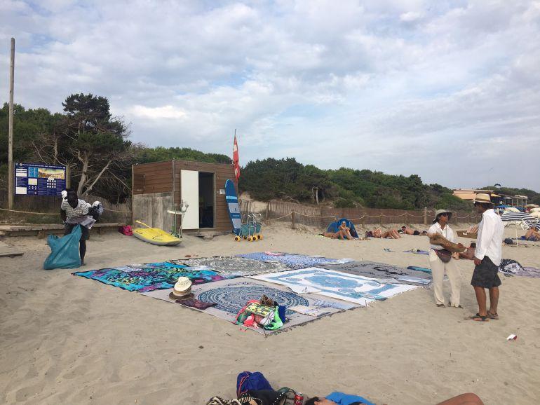 Menos infracciones en las playas de Sant Josep