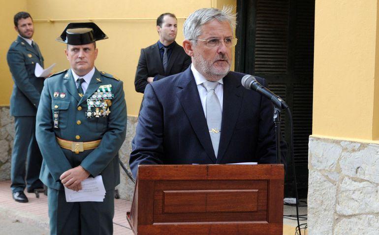 El discurso del director insular de la Administración, Javier López-Cerón generó polémica.