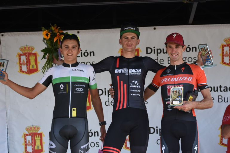 Iván Feijóo, Segundo en el ciclocroos de Fresno de Rodilla (Burgos), en su primera carrera entre los élites