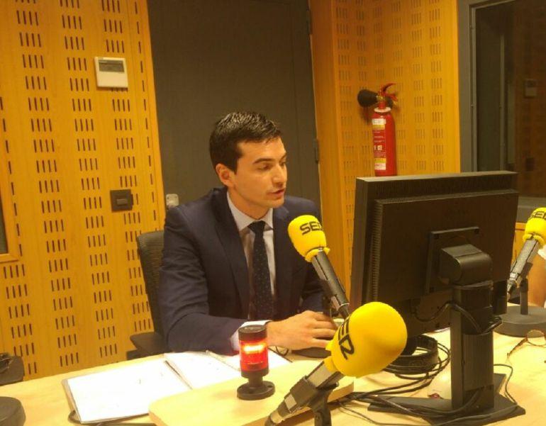 David Vázquez, concejal de Hacienda del ayuntamiento de Palencia