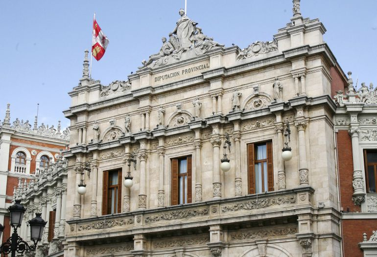 Frontal de la Diputación de Palencia