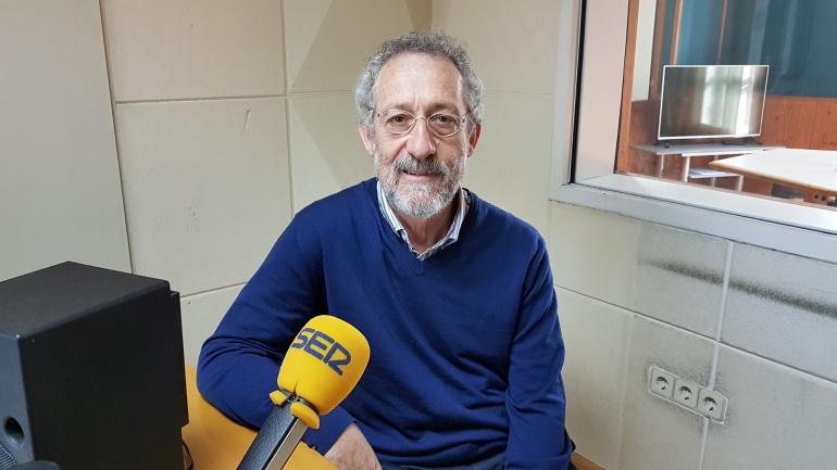 Alberto Ruiz Jimeno durante la entrevista en la Ventana de Cantabria